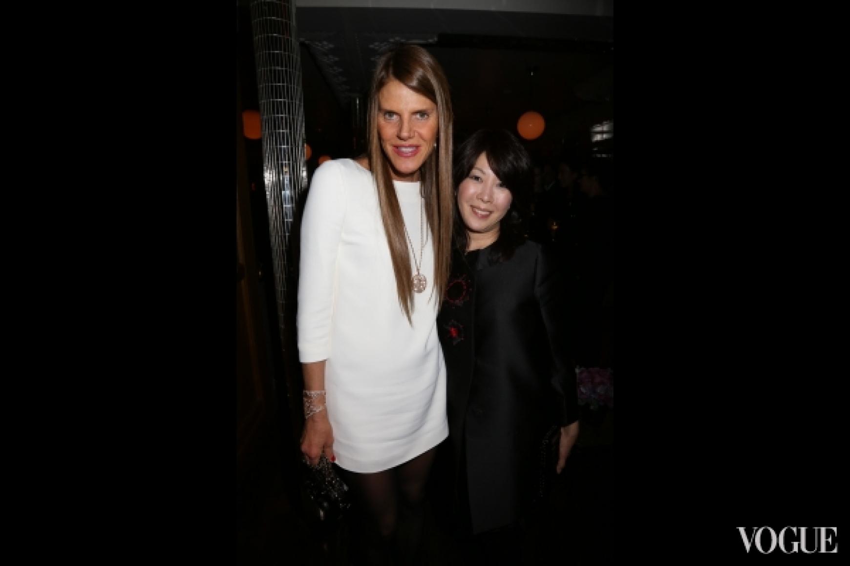 Анна Делло Руссо и Мицуко Ватанабе (Vogue Nippon)