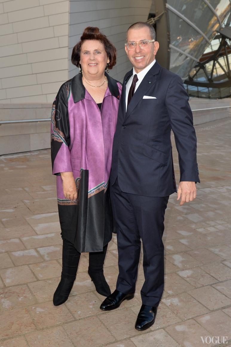 Сьюзи Менкес и Джонатан Ньюхаус