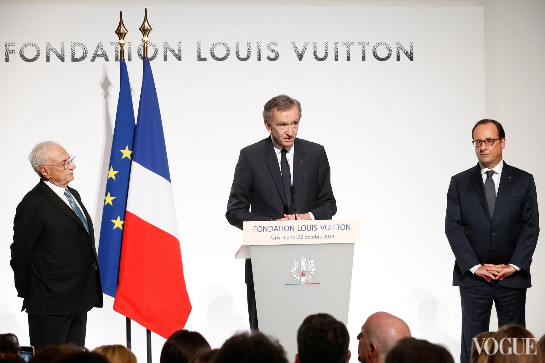 Бернар Арно и Франсуа Олланд
