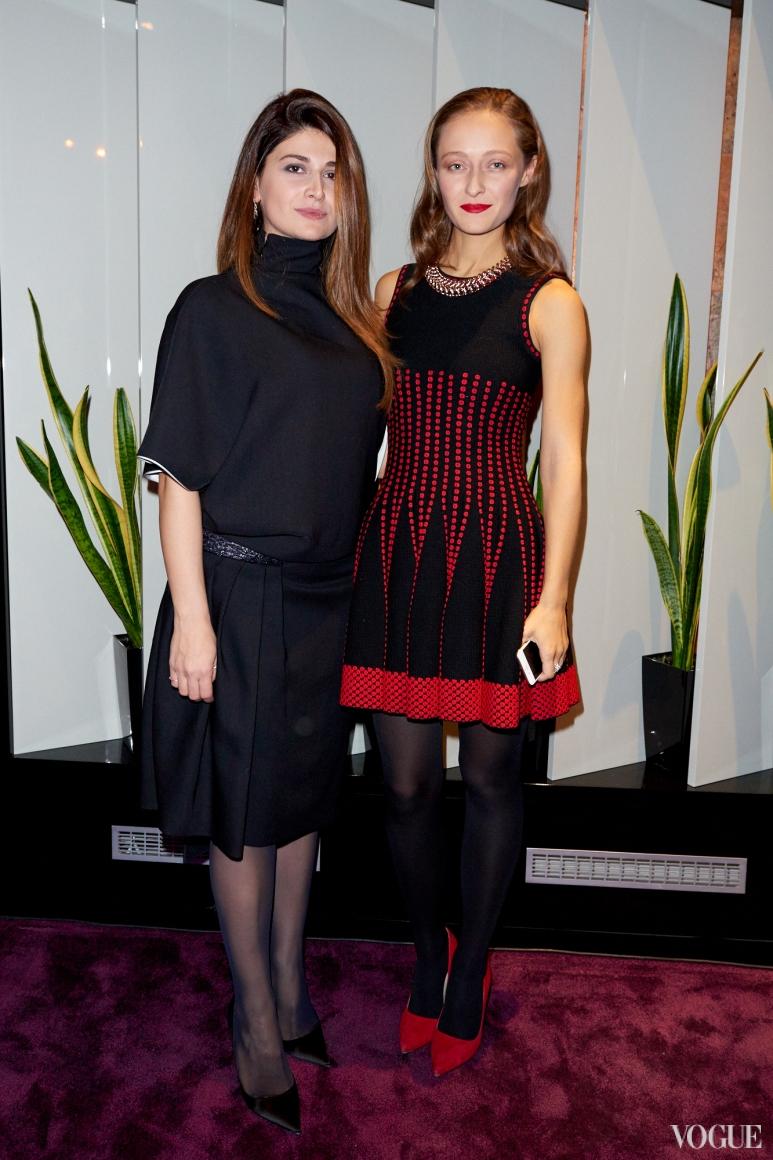 Нина Васадзе и Дарья Шаповалова