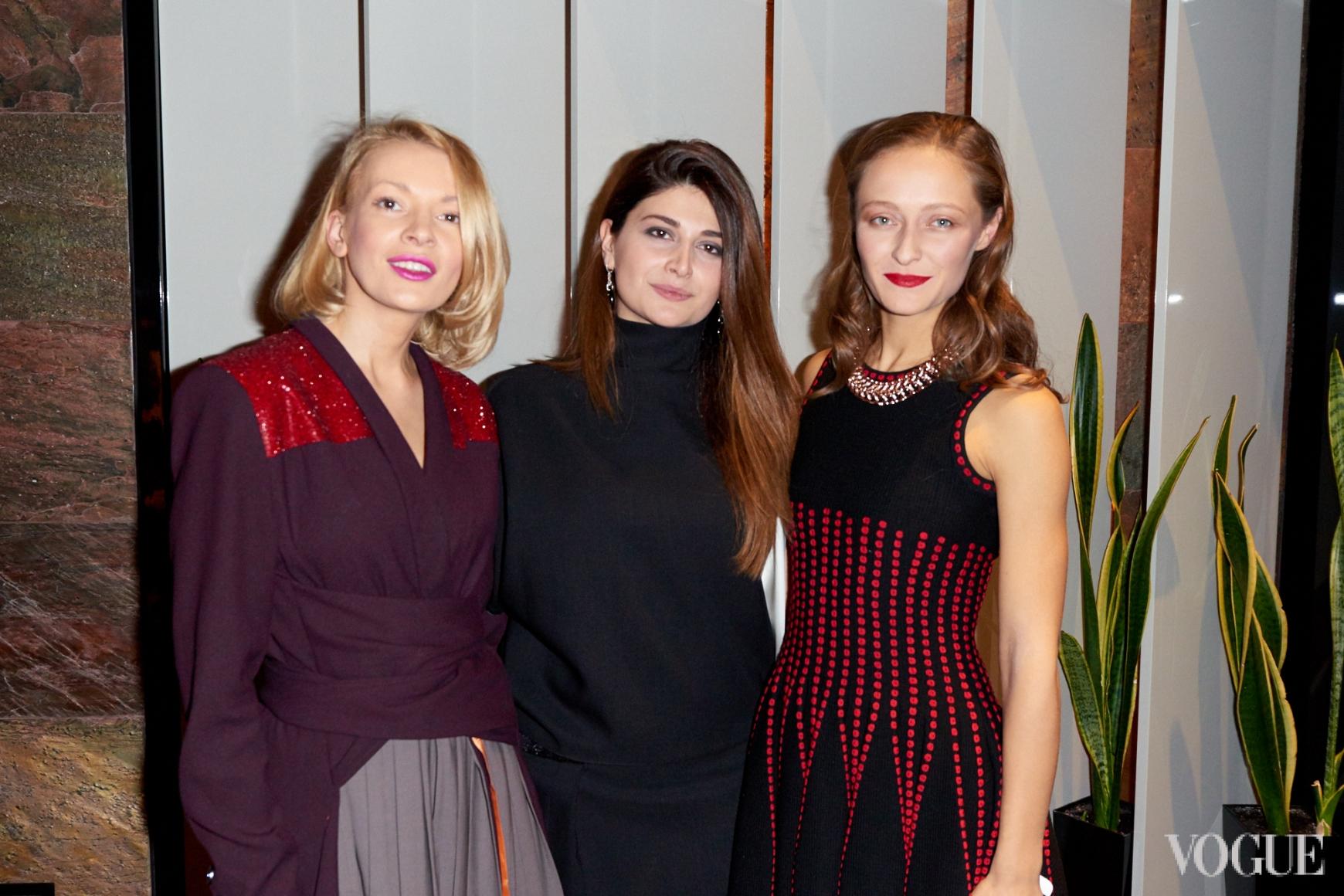 Полина Неня, Нина Васадзе, Дарья Шаповалова