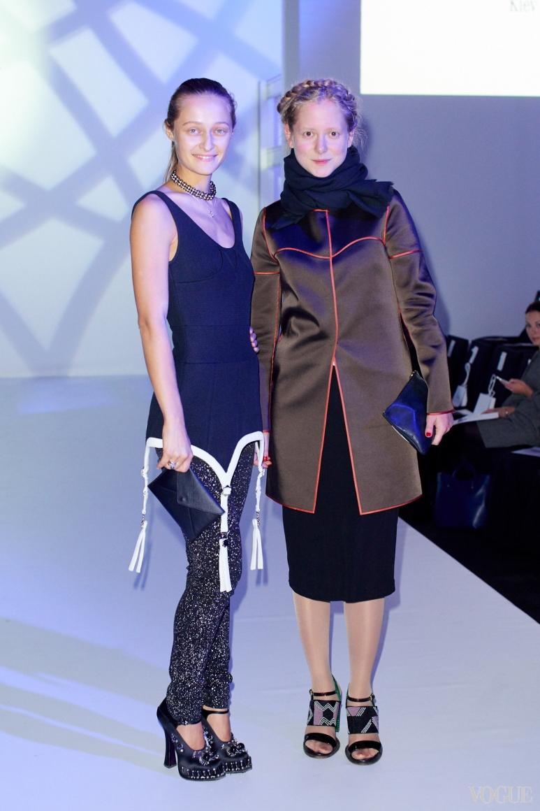 Дарья Шаповалова и Анна Октябрь
