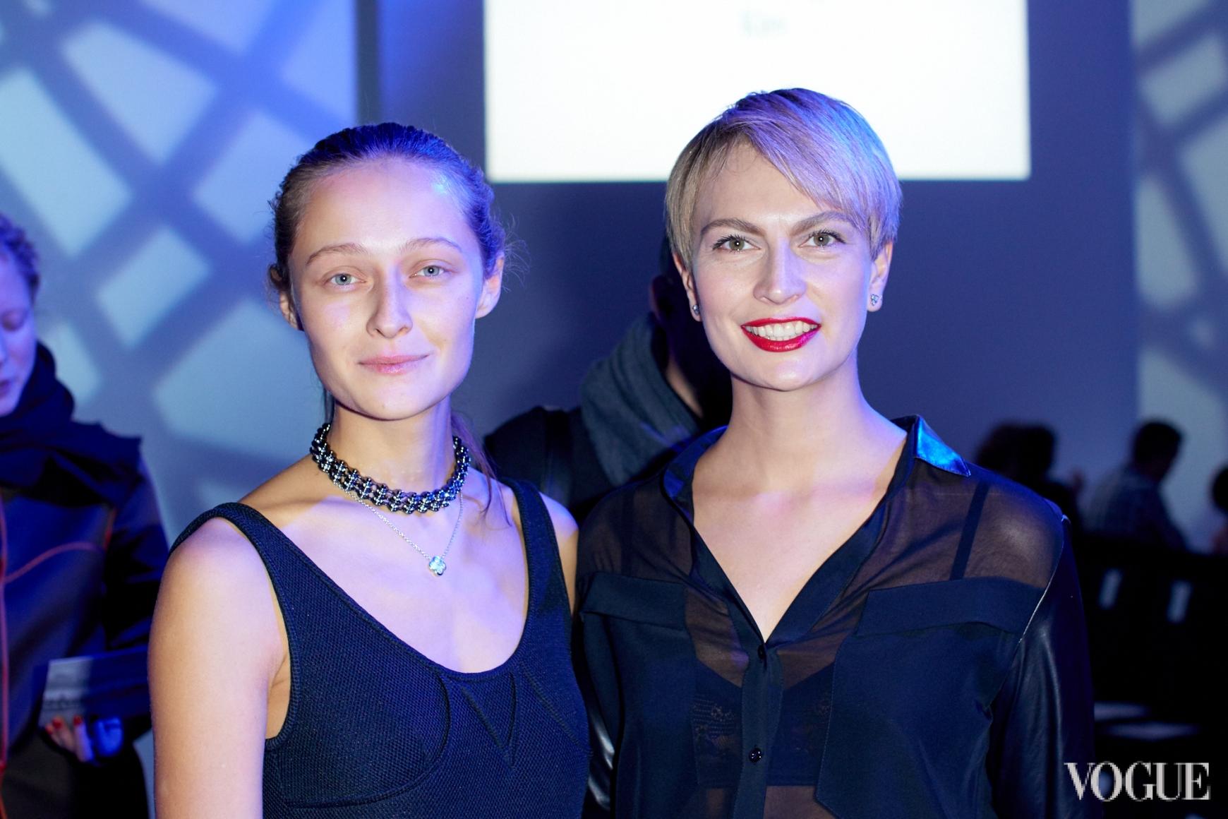 Дарья Шаповалова и Маша Цуканова