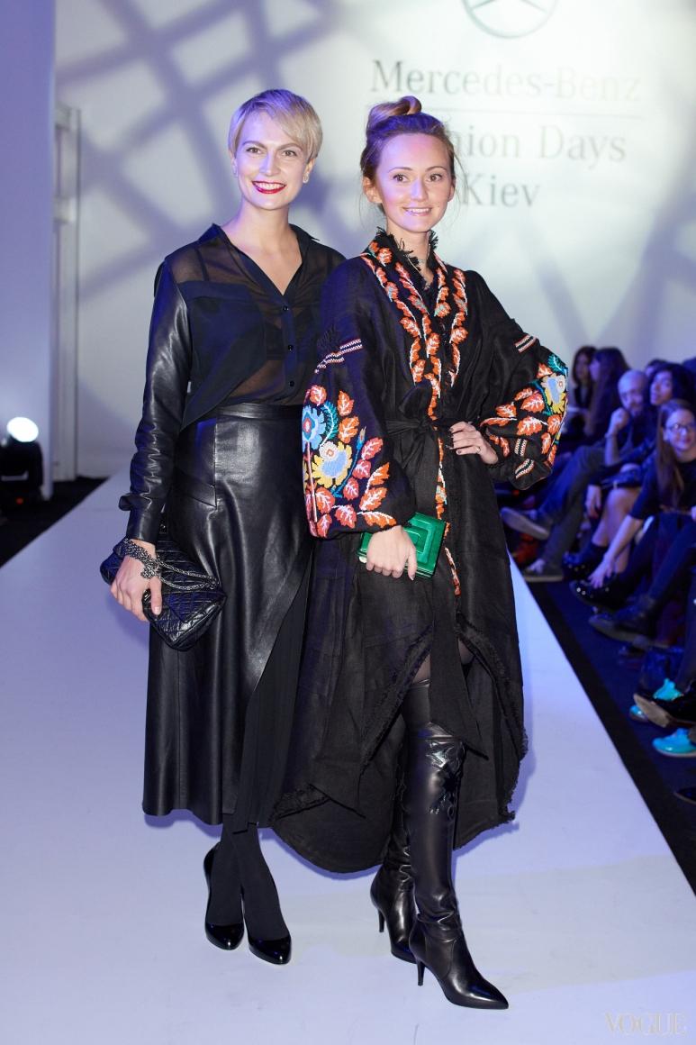Маша Цуканова и Юлия Магдыч