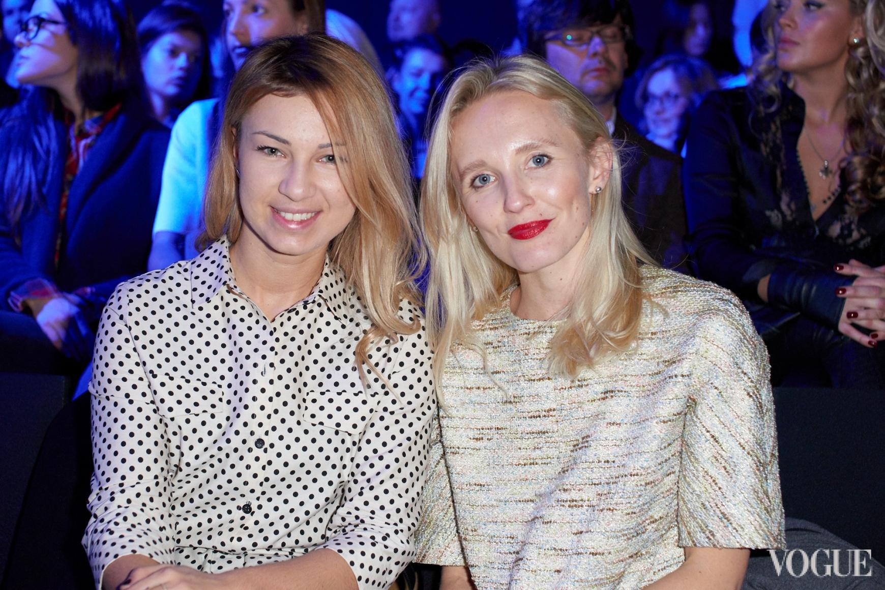 Яна Бучко и Анна Пащенко