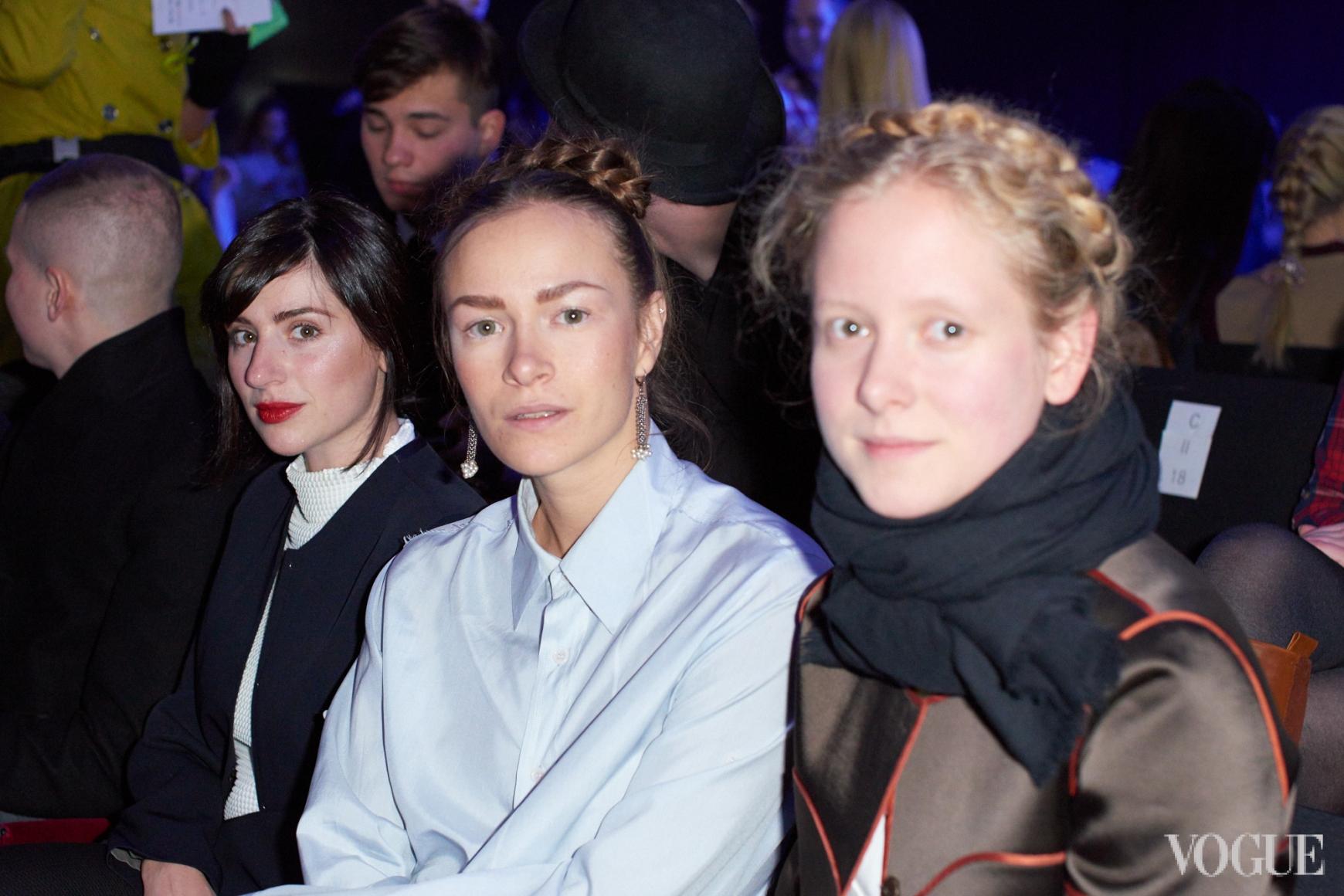 Светлана Бевза, Надежда Шаповал и Анна Октябрь
