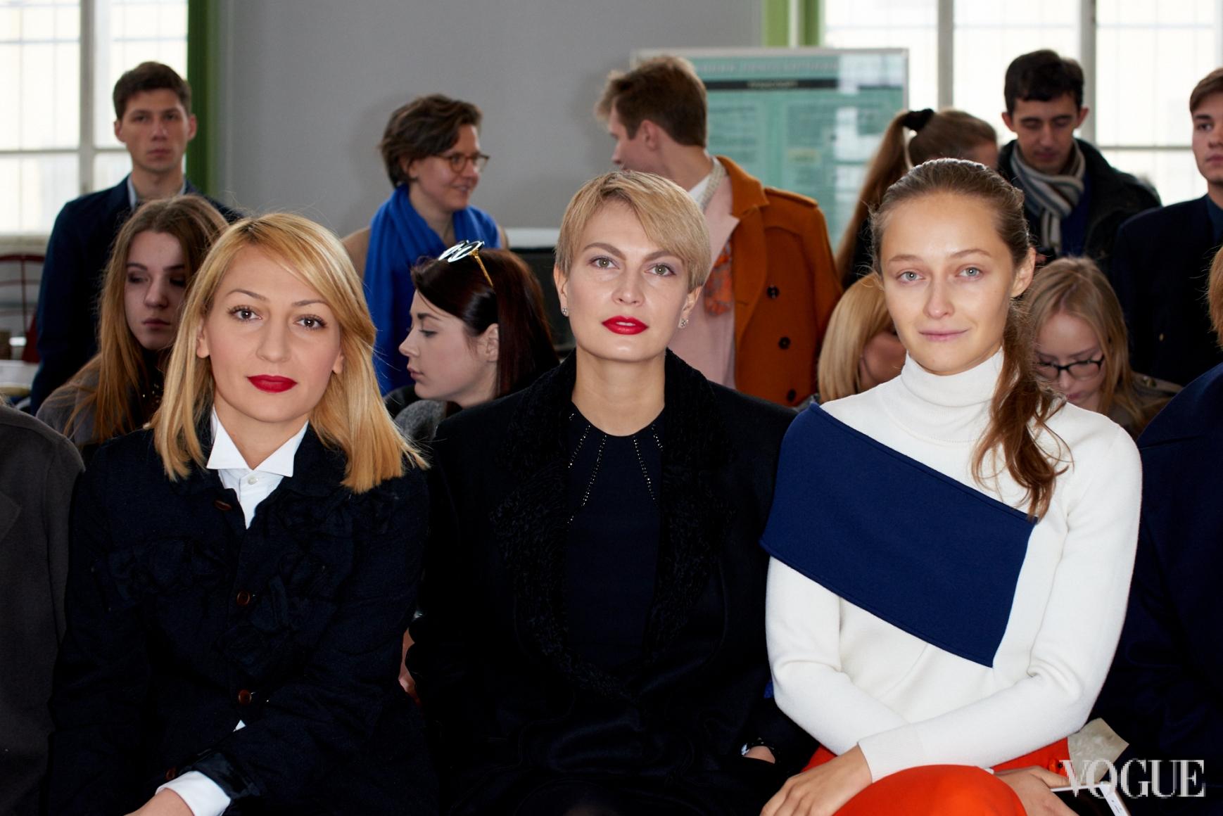 Ася Мхитарян, Маша Цуканова и Дарья Шаповалова