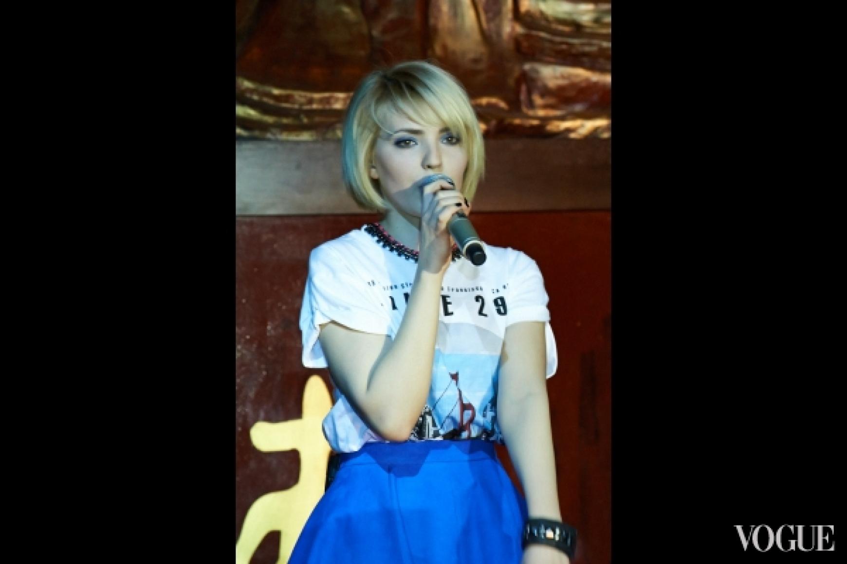 вокалистка группы GORCHITZA