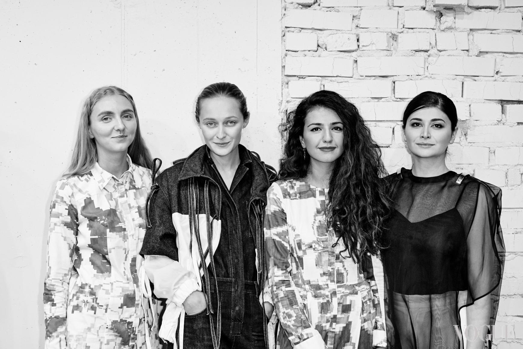 Ксения Шнайдер, Дарья Шаповалова, Софи Вилли, Нина Васадзе