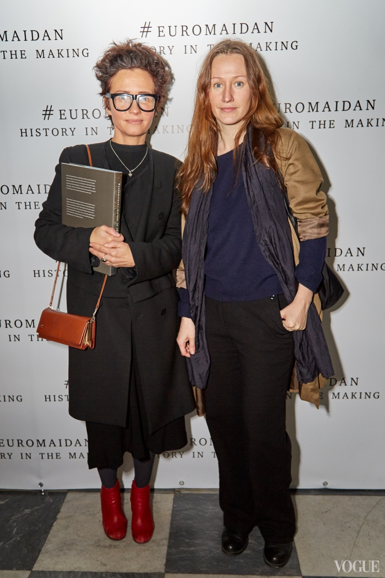 Наталья Исупова и Василина Врублевская