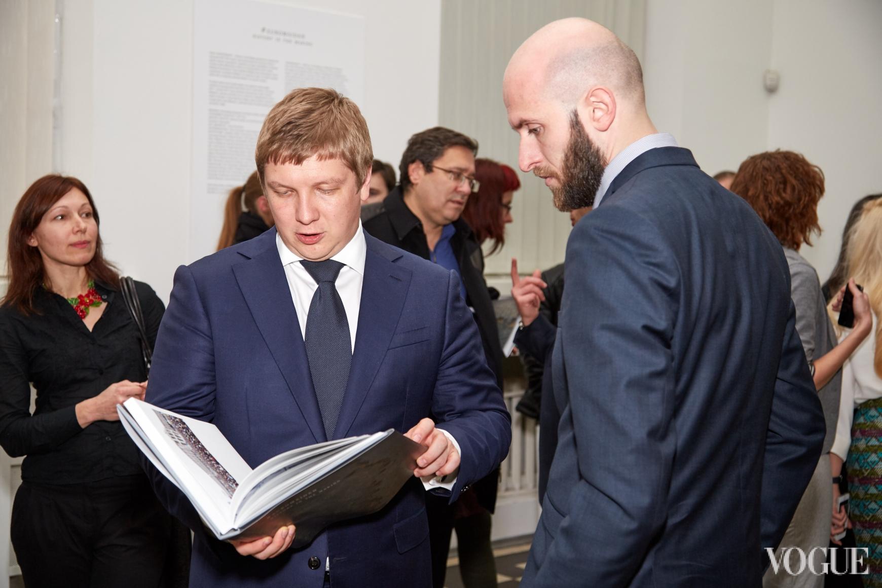 Андрей Коболев и Владимир Кадыгроб