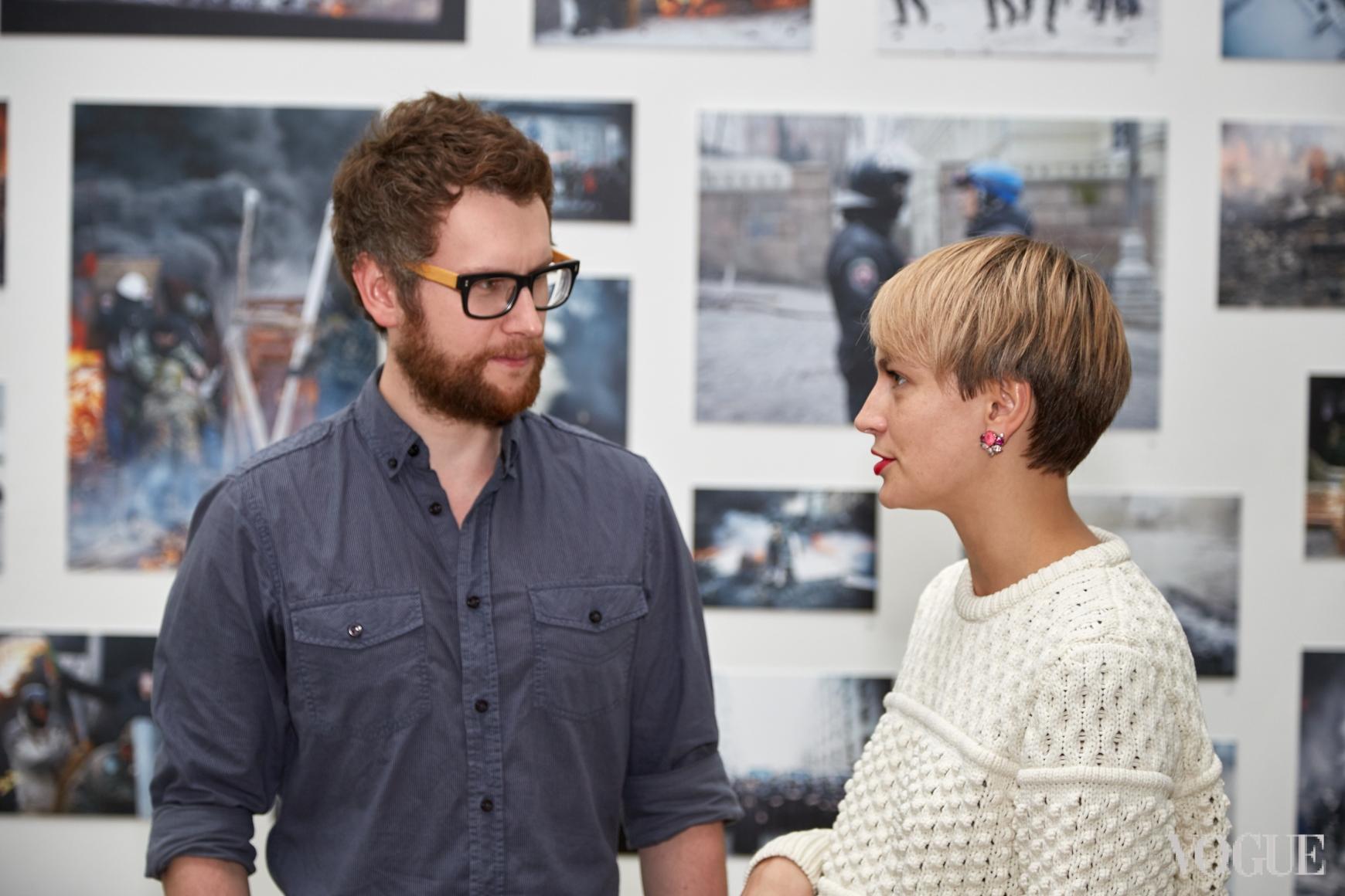 Юрий Марченко и Маша Цуканова
