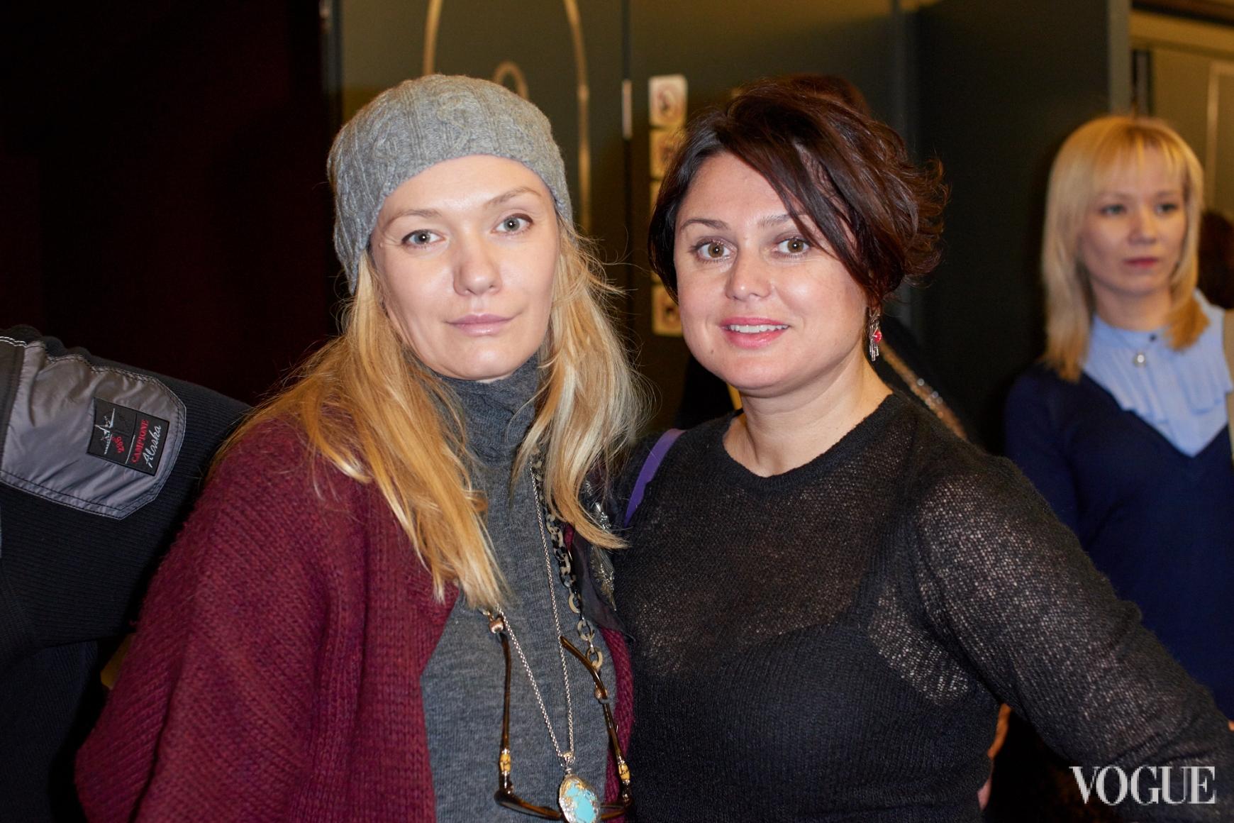 Ирина Ковальчук и Кристина Храновская