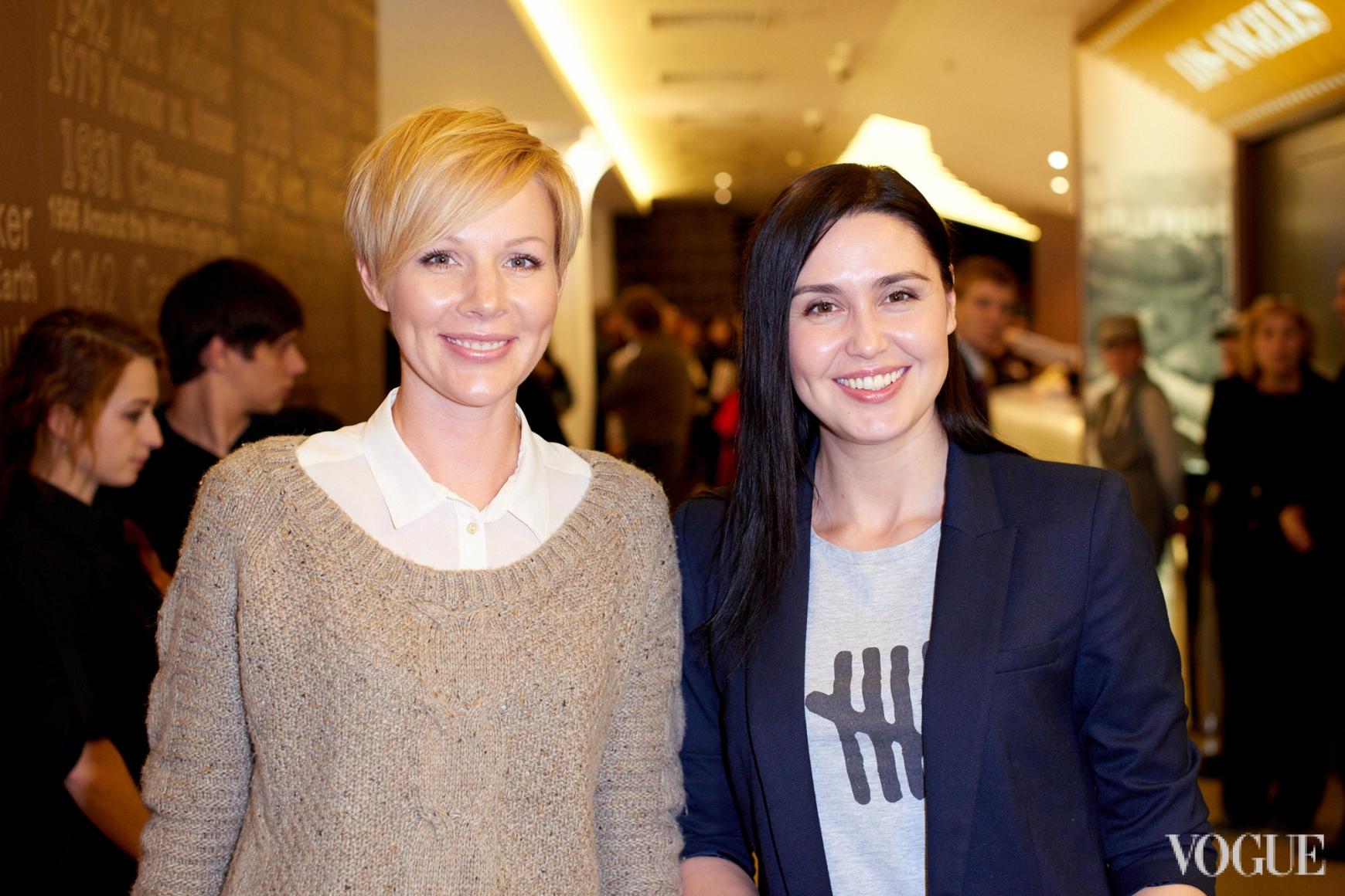 Марина Леончук и Людмила Барбир