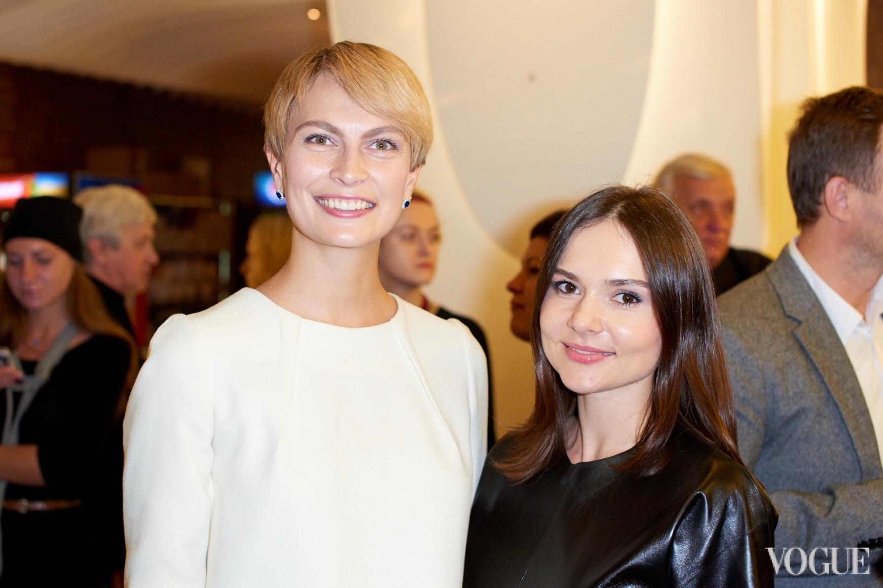 Маша Цуканова и Алена Лавренюк