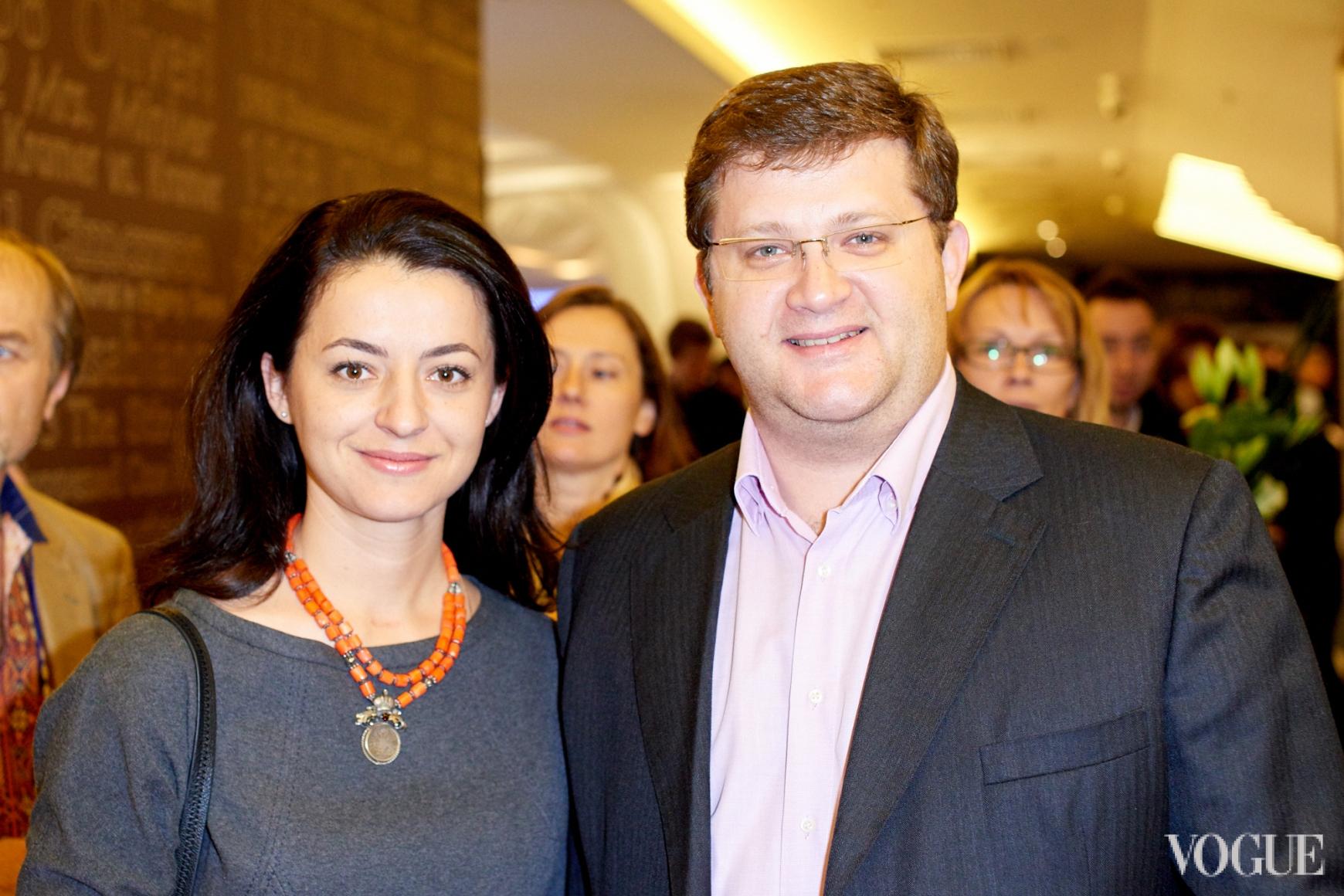 Наталка Фицич и Владимир Арьев