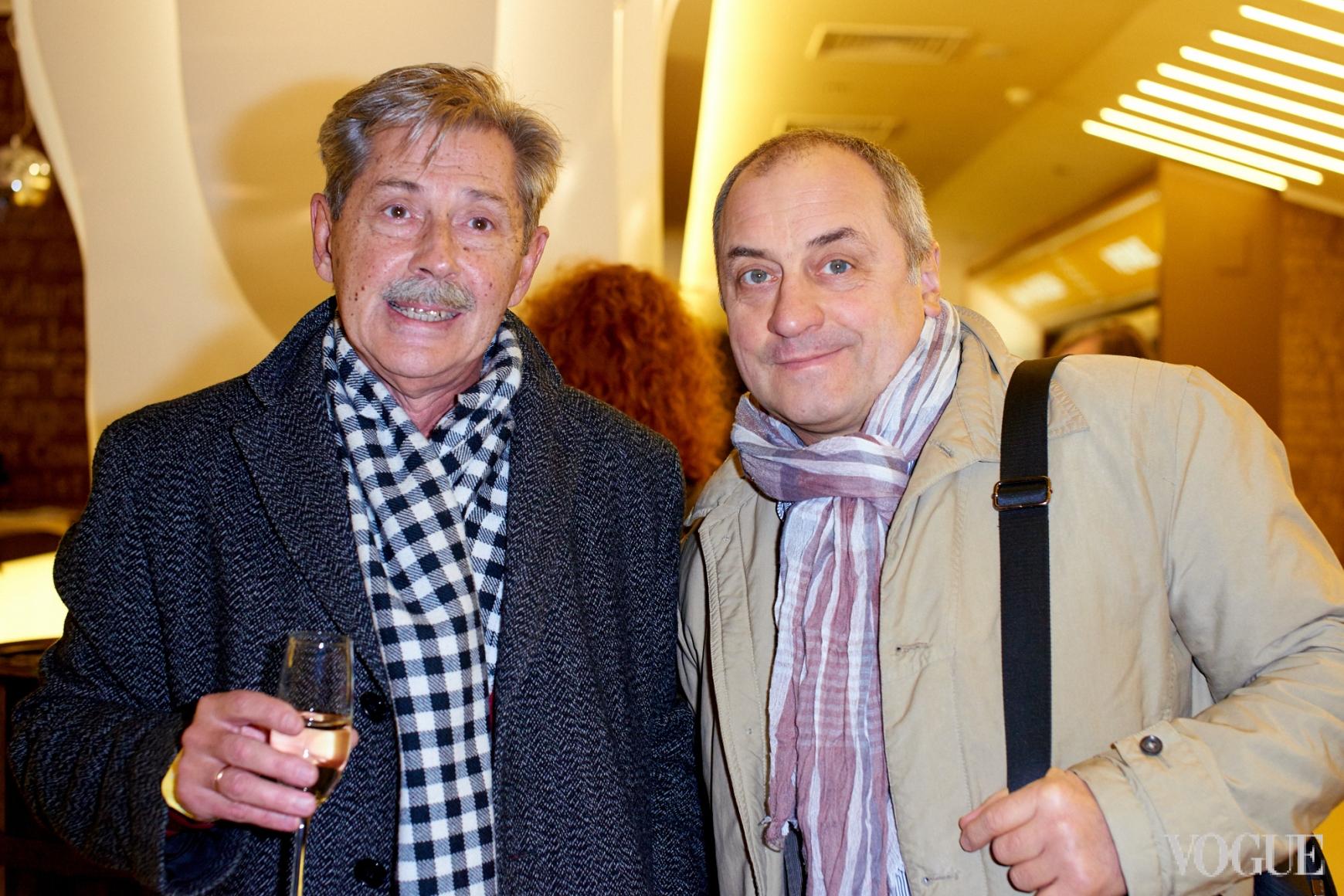 Андрей Халпахчи и Виктор Андриенко