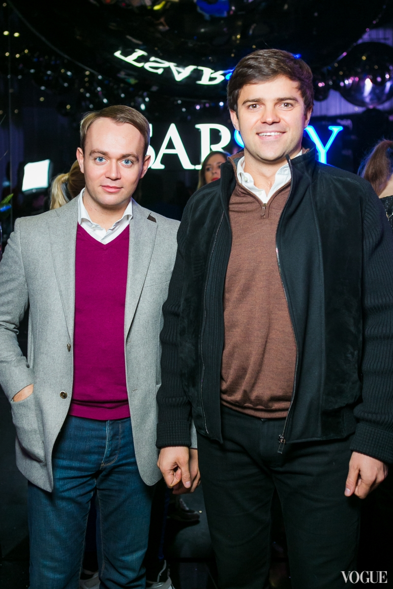 Андрей Щербань (справа)