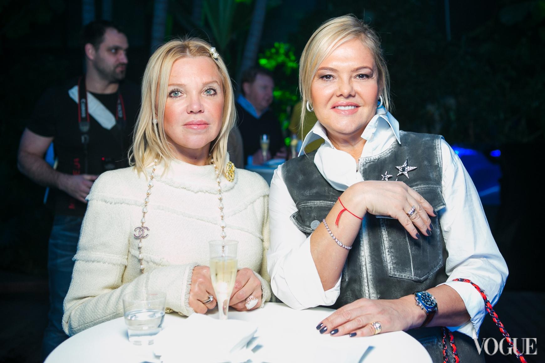 Диана Лялина (справа)