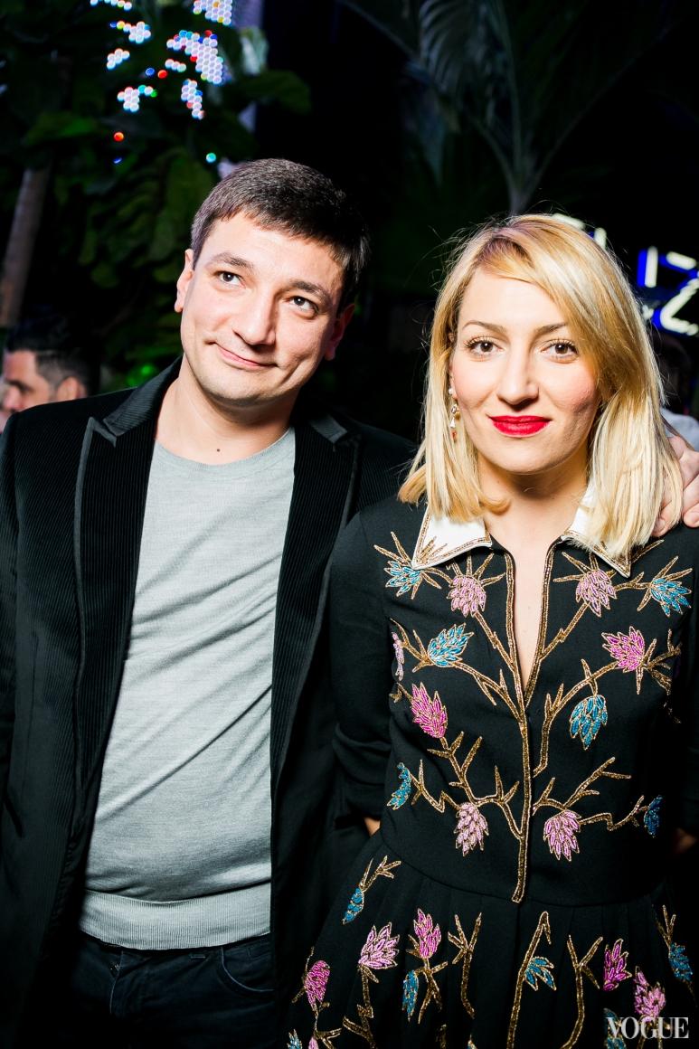 Артур и Ася Мхитарян