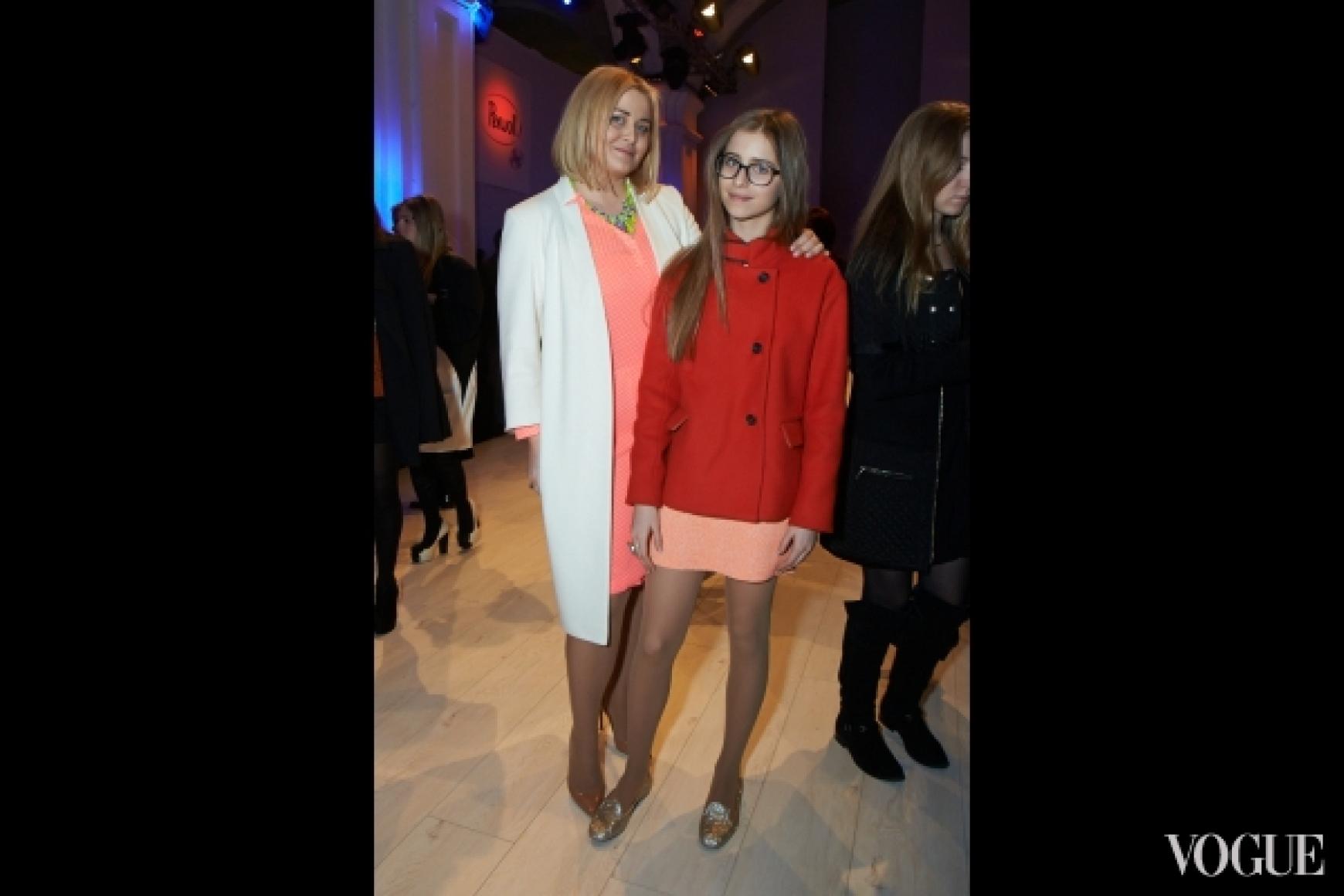 Светлана Евдокименко с дочерью Софией