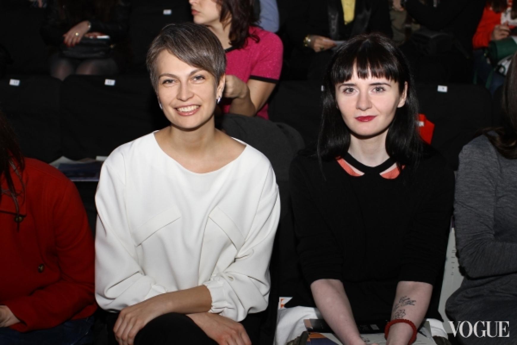 Маша Цуканова в KamenskaKononova и Ольга Януль в Poustovit