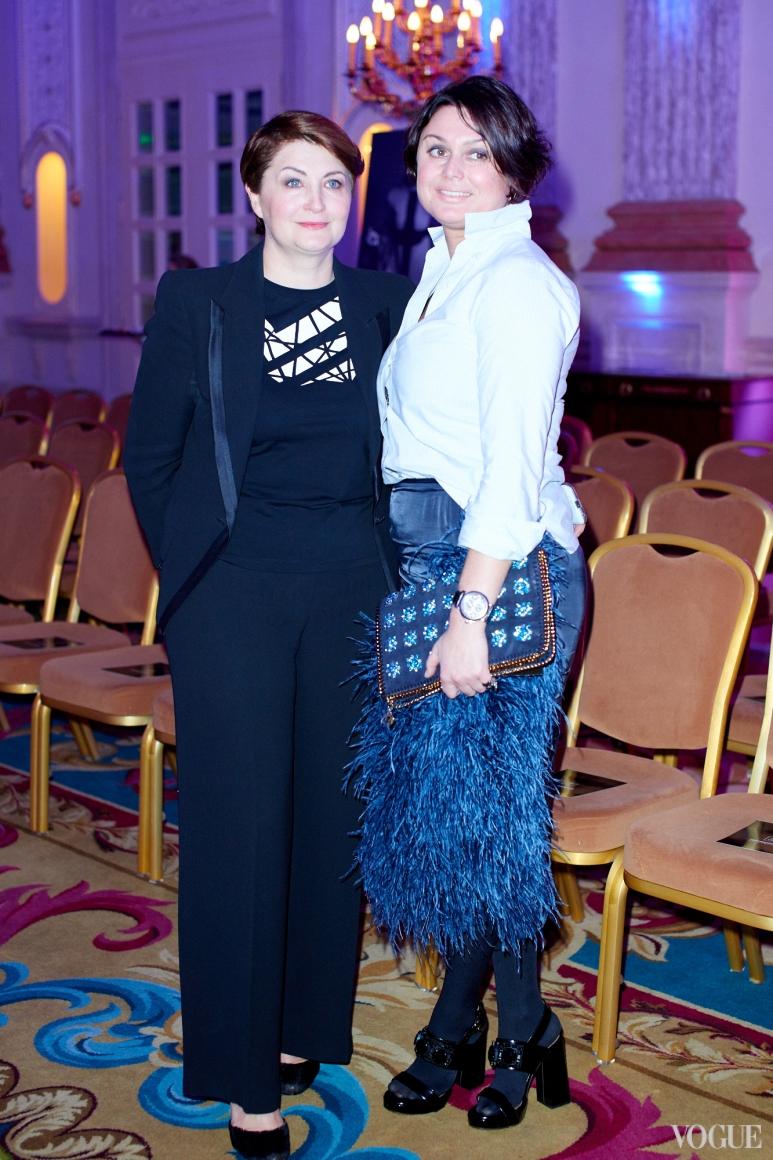 Ирина Данилевская и Кристина Храновская