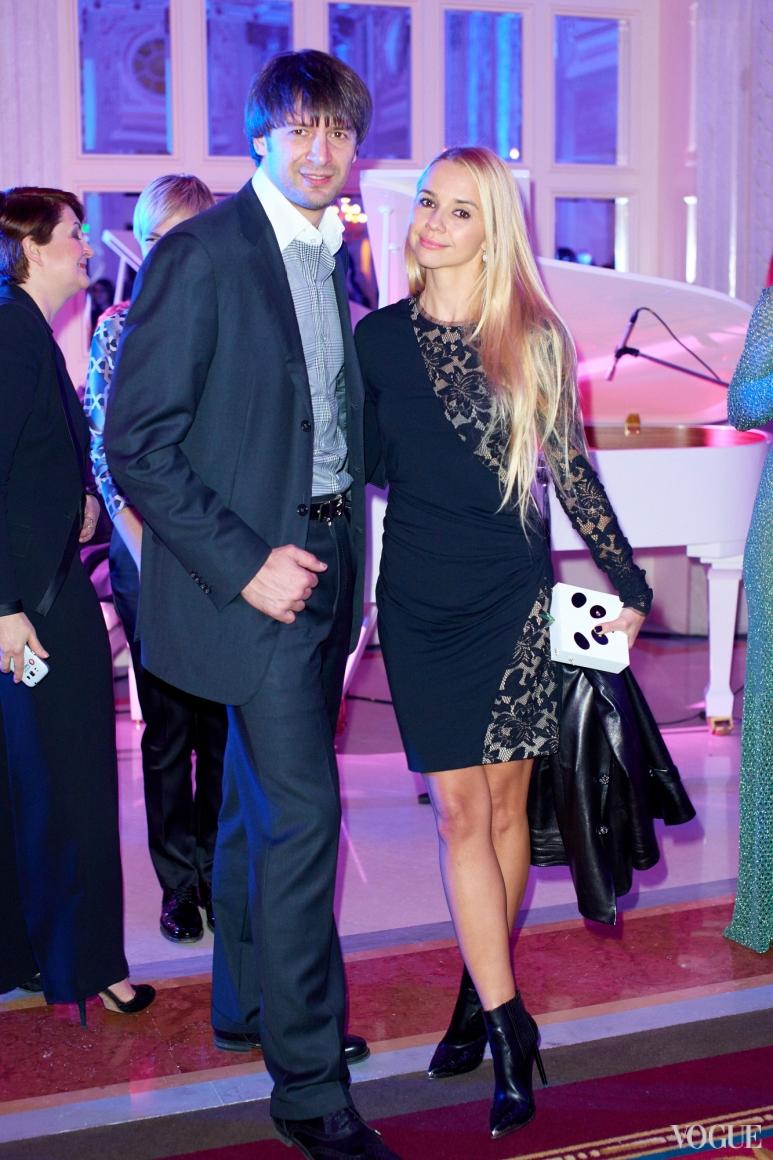 Александр Шовковский и Ирина Турбаевская