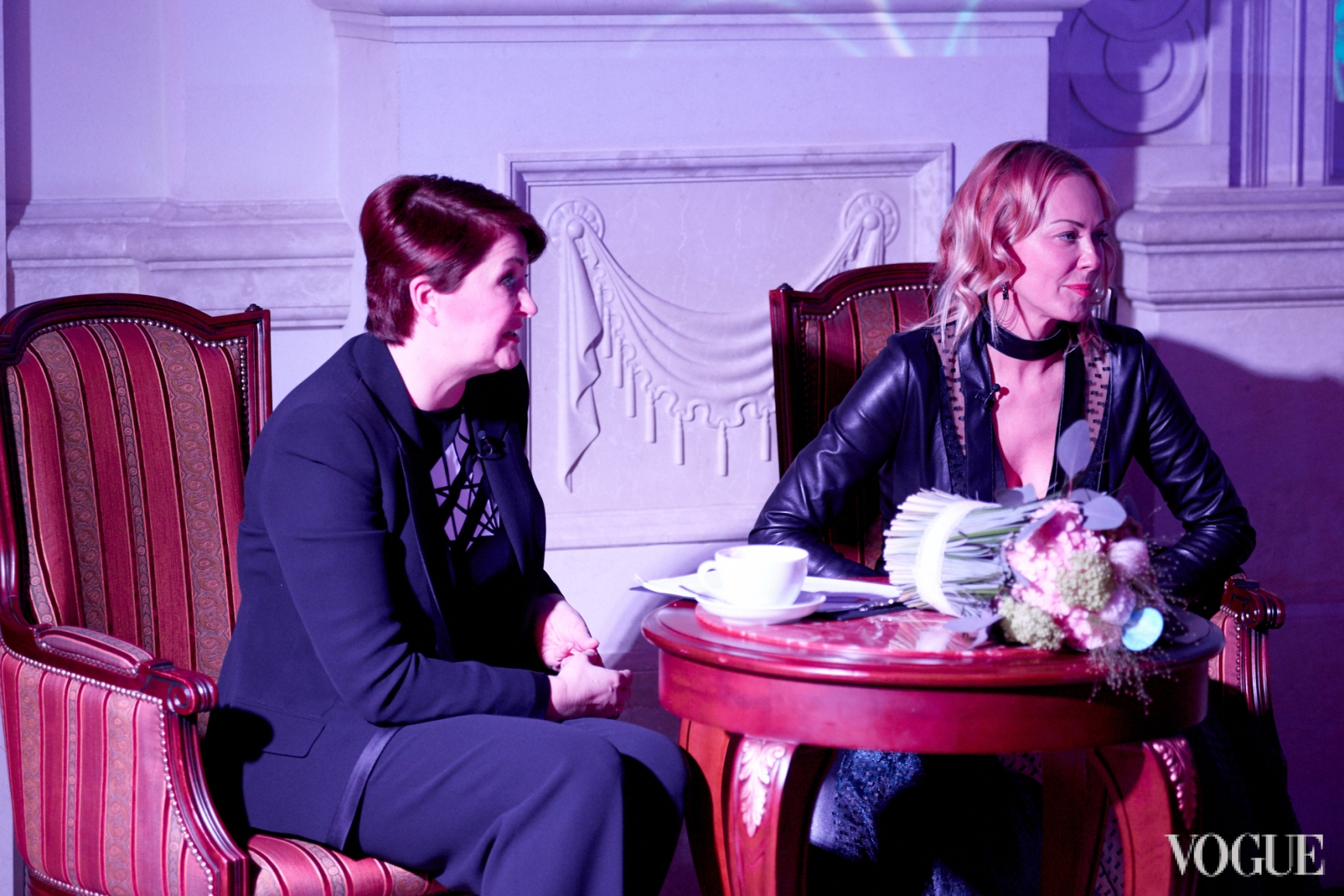 Ирина Данилевская и Ольга Аленова