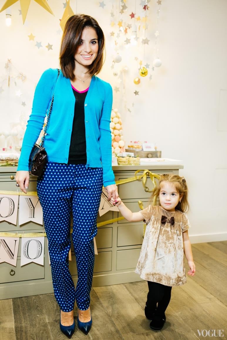 Фаина Тедеева с дочерью