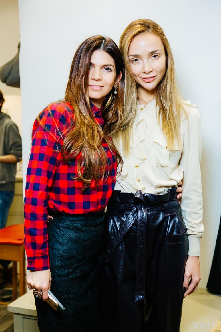Алина Алиева и Алена Беттяр