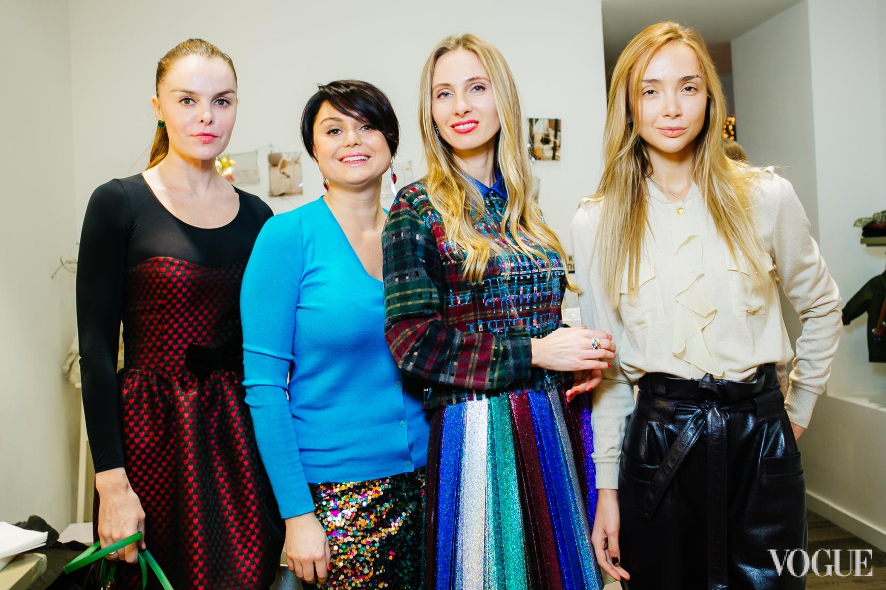 Ольга Алексенко, Хрыстя Храновская, Наталья Череп, Алена Беттяр