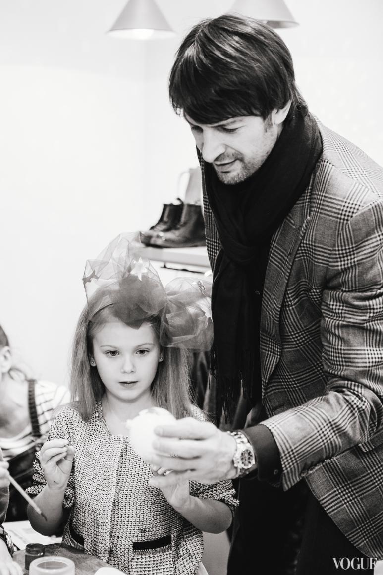 Александр Шовковский с дочерью