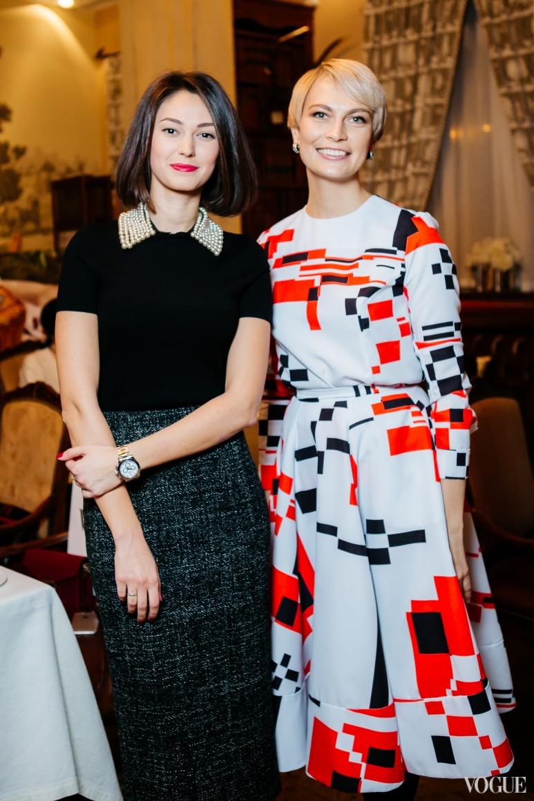 Екатерина Горина и Маша Цуканова