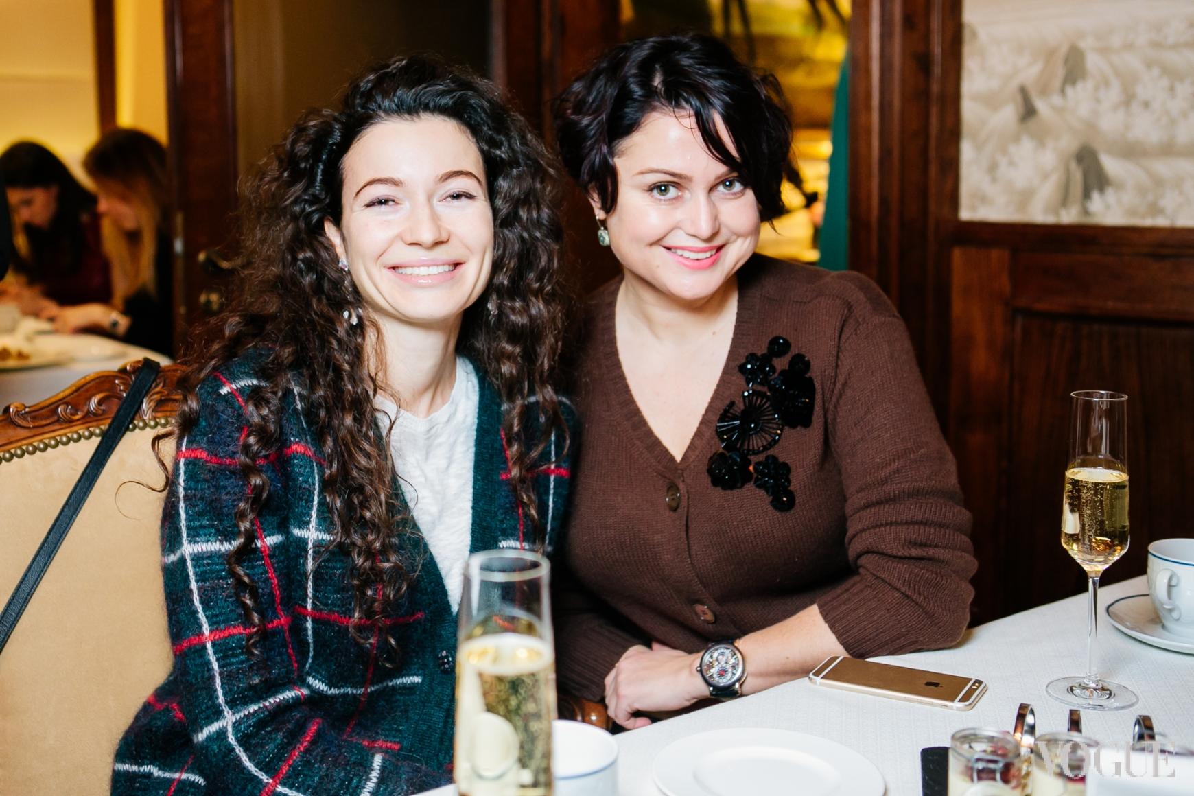 Александра Червоненко и Кристина Храновская