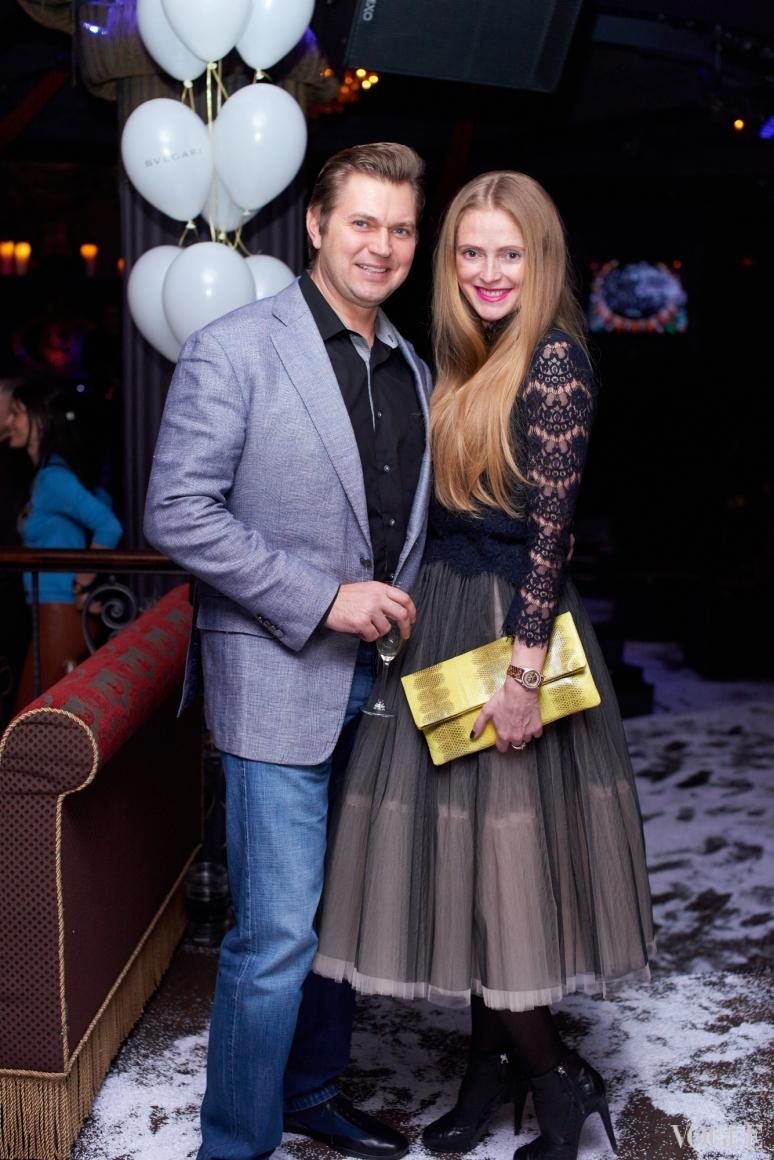 Игорь Франчук и Юлия Польская