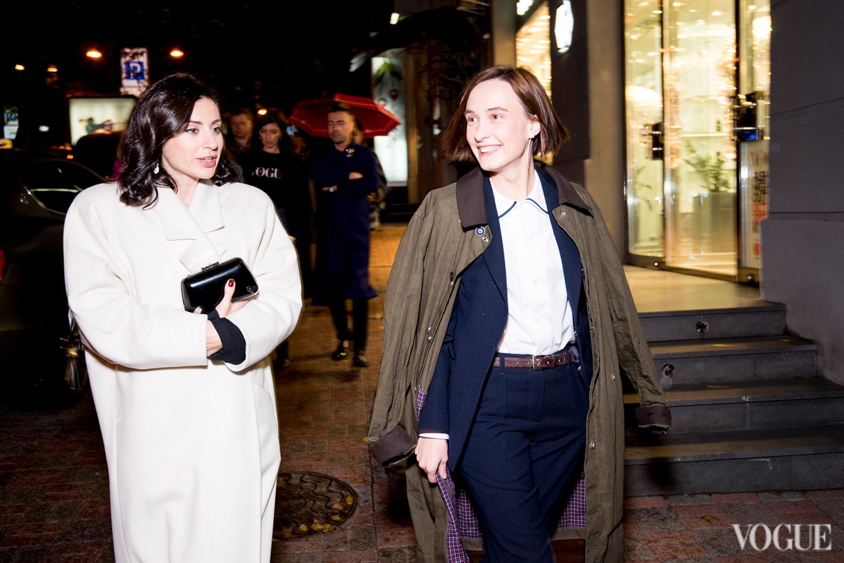 Светлана Бевза и Ольга Сушко