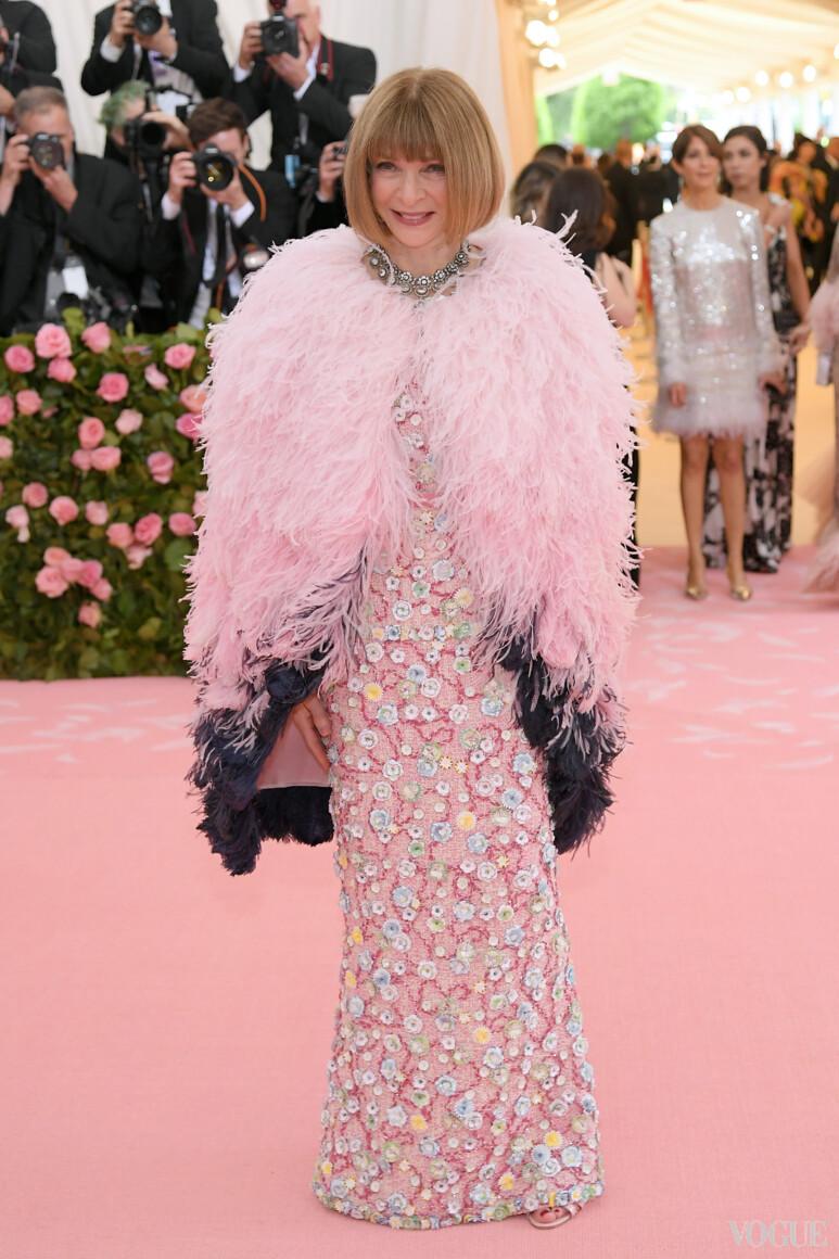 Анна Винтур в Chanel