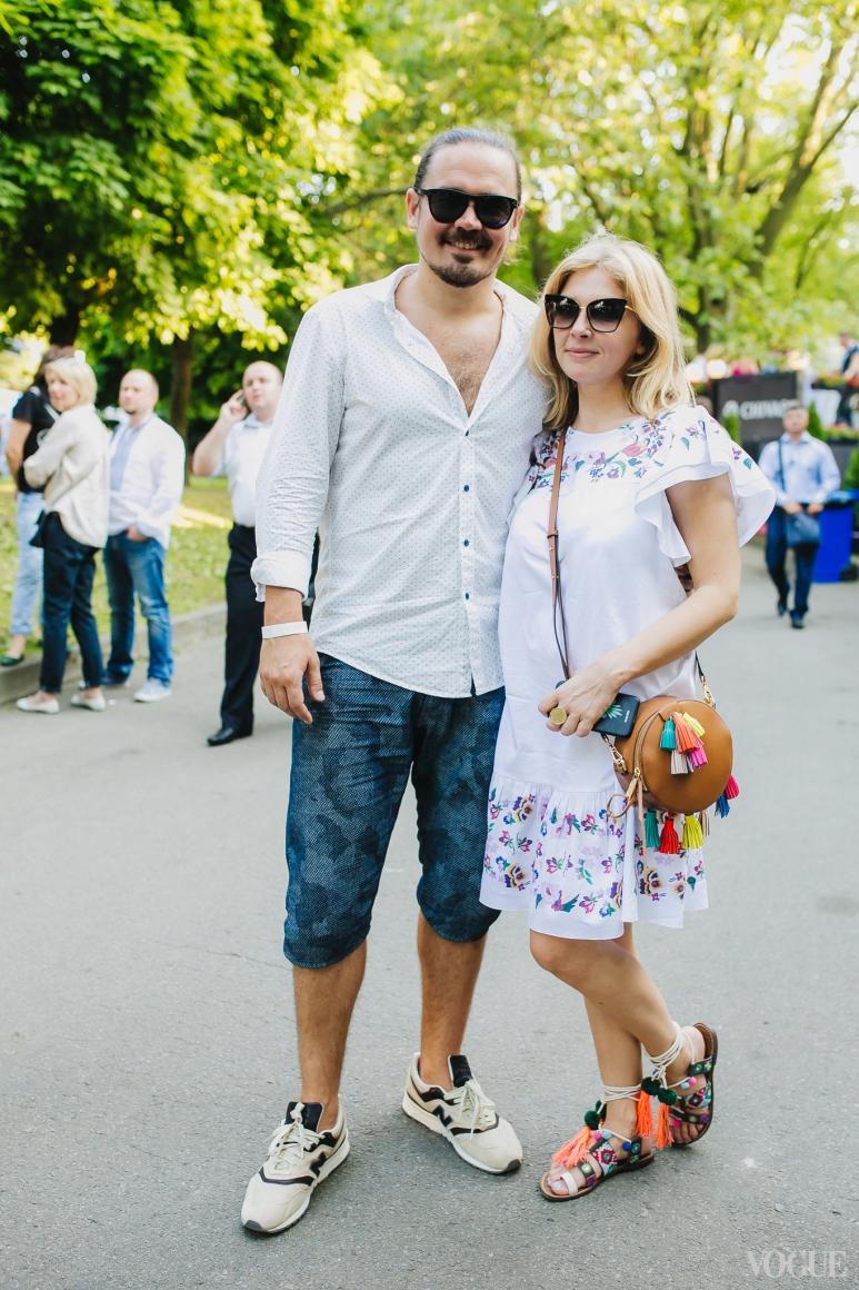 Олег Михайлюта и Ольга Навроцкая