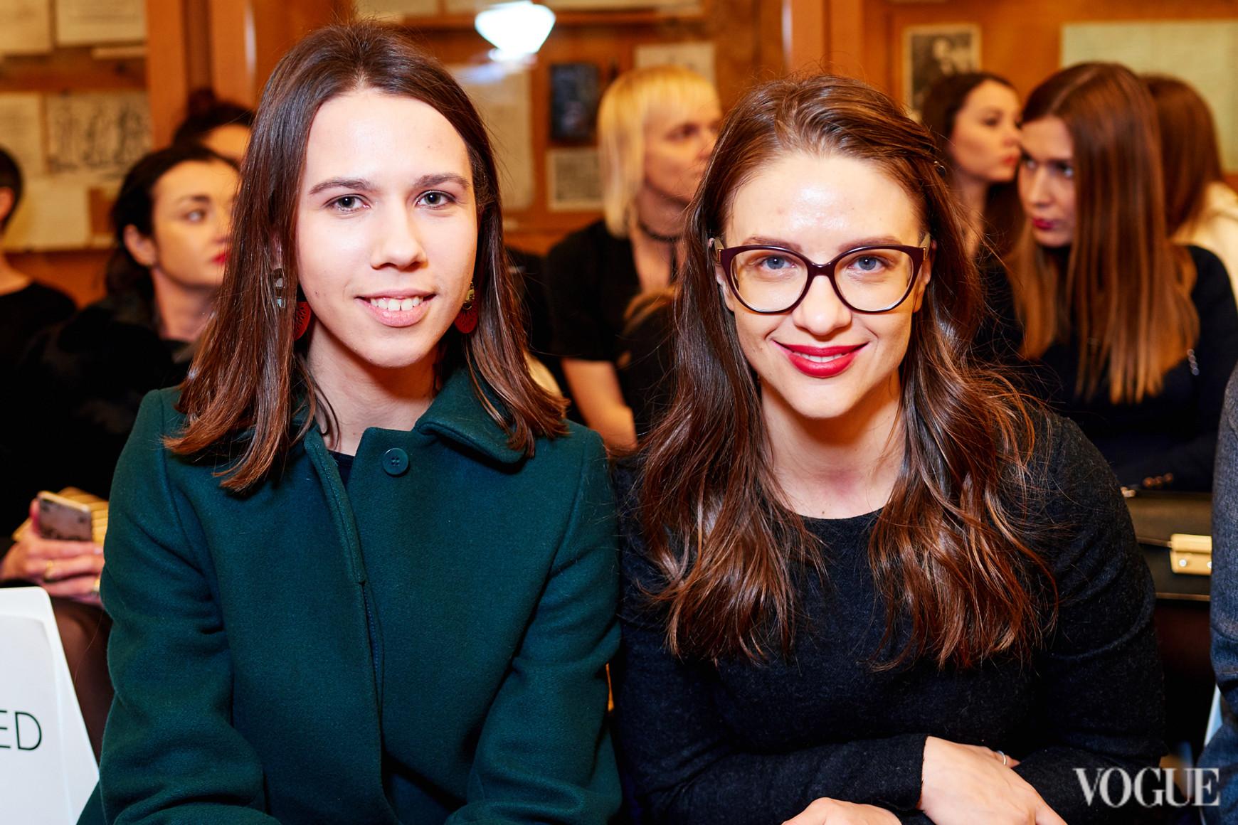 Валерия Гусева и Юлия Письменная