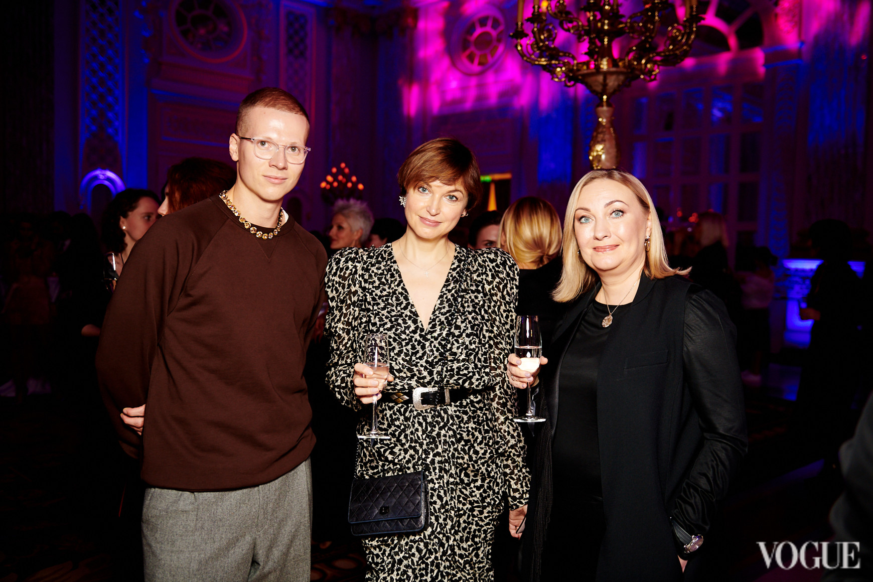 Веня Брыкалин, Карина Добротворская и Елена Чернова