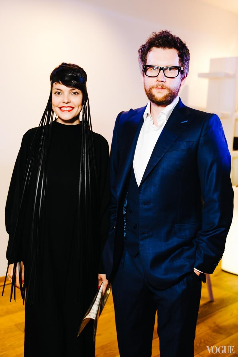 Катя Тейлор и Юрий Марченко