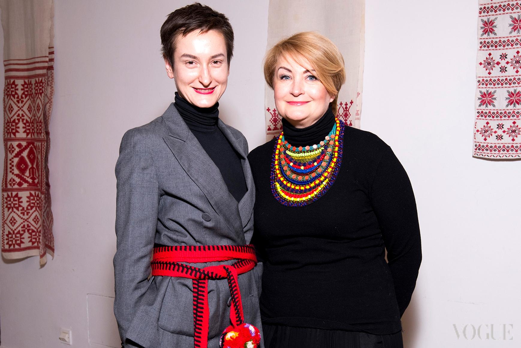 Татьяна Соловей и Ирина Данилевская