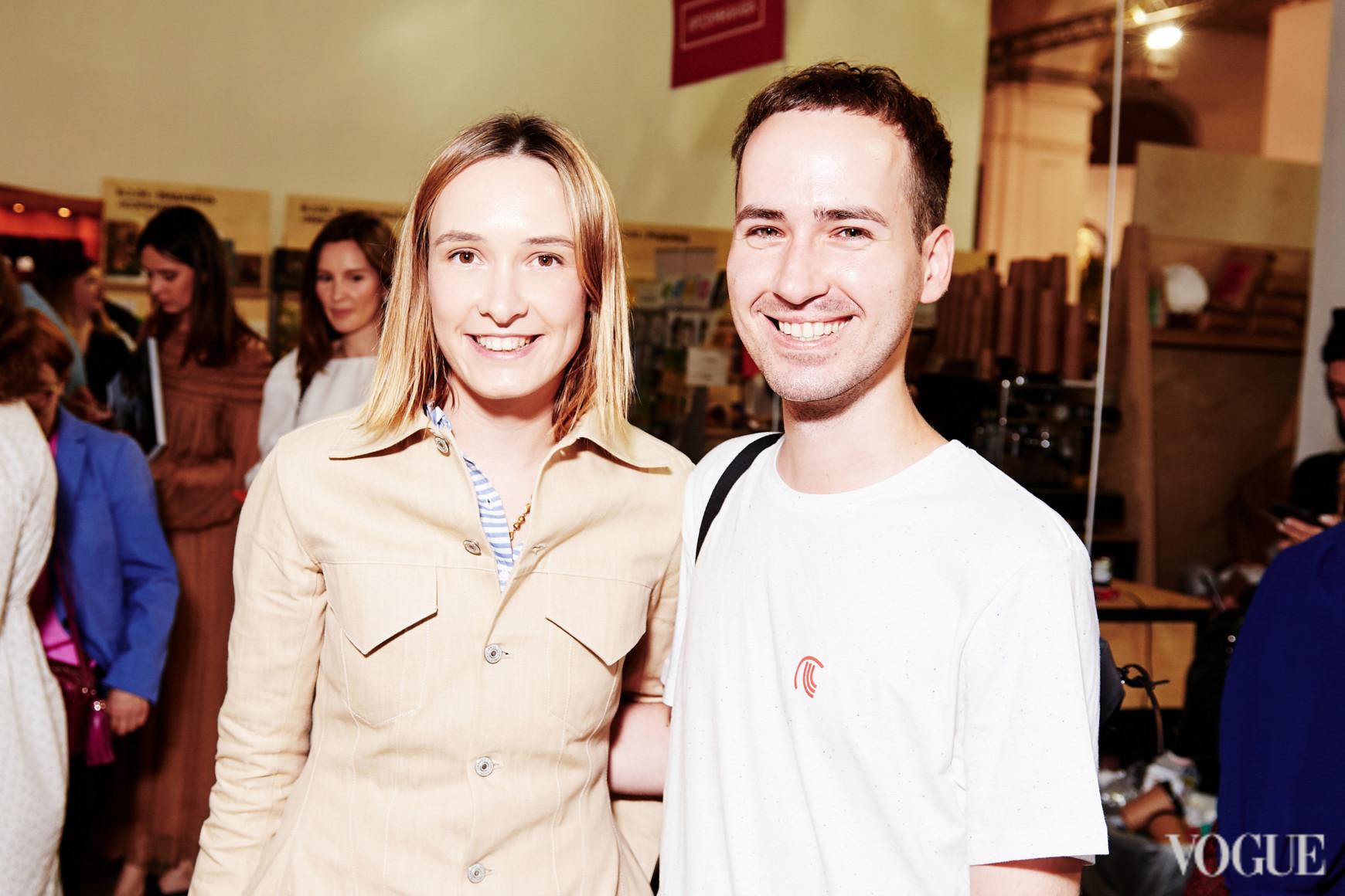 Ольга Сушко и Максим Назаров