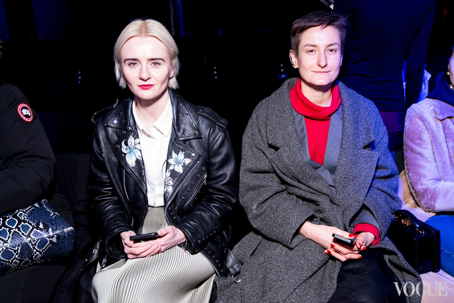 Ольга Януль и Татьяна Соловей