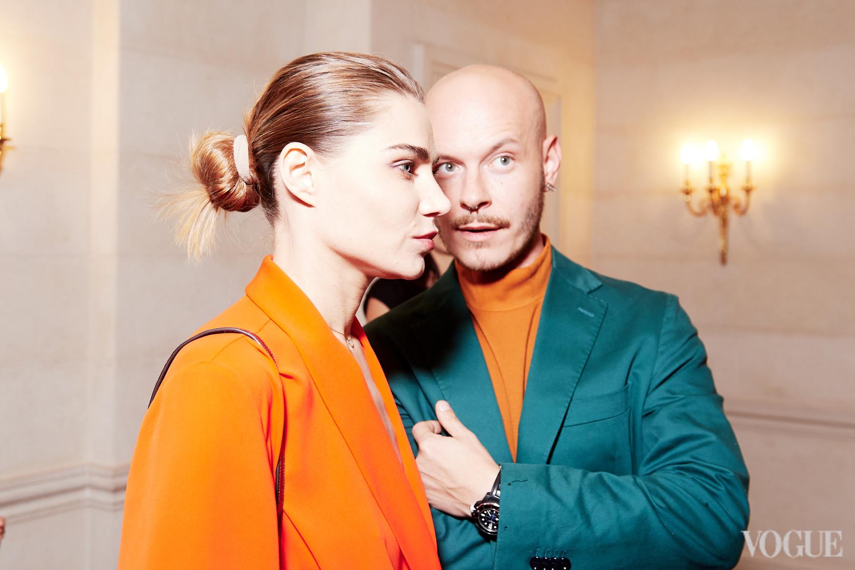 Юлия Богдан и Максим Некрасов