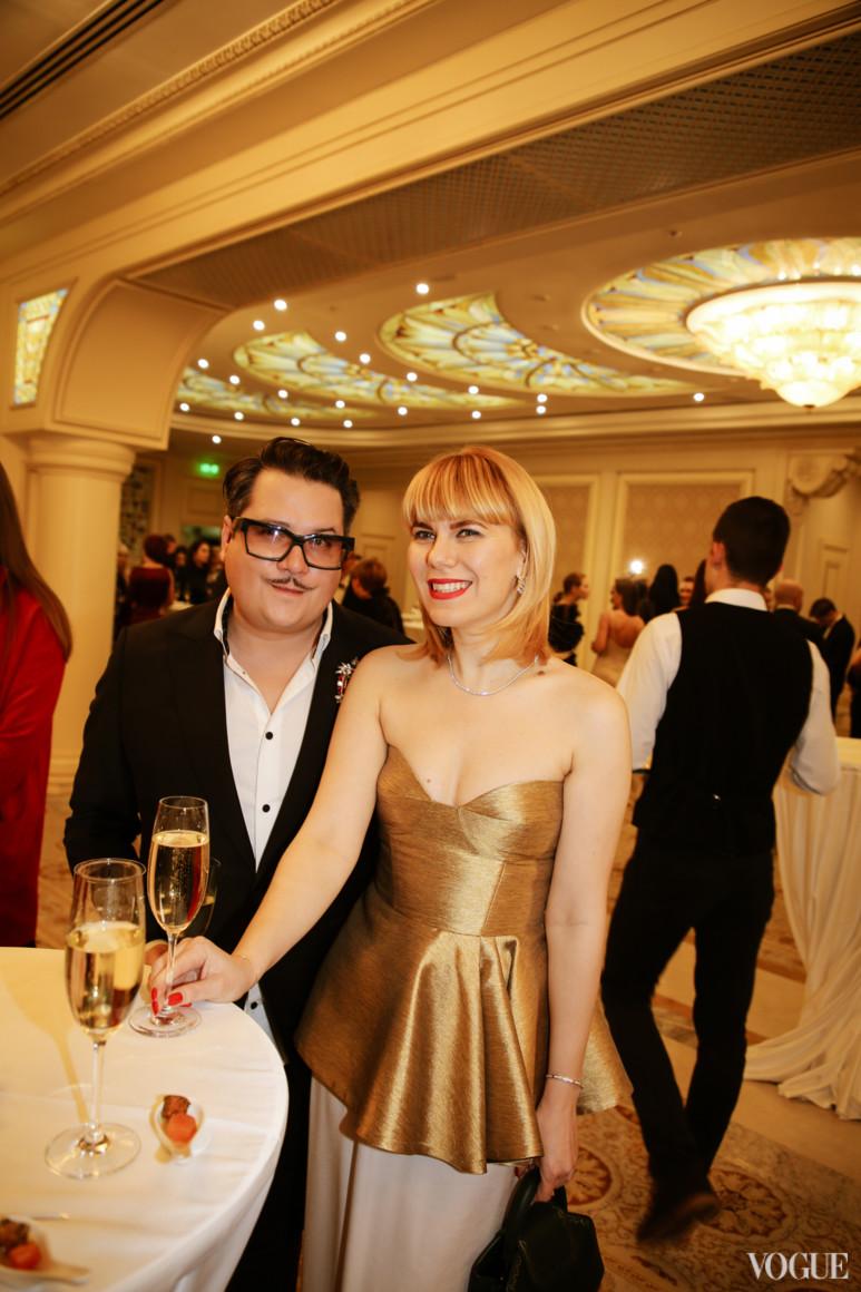 Серж Пайе и Наталья Листопад