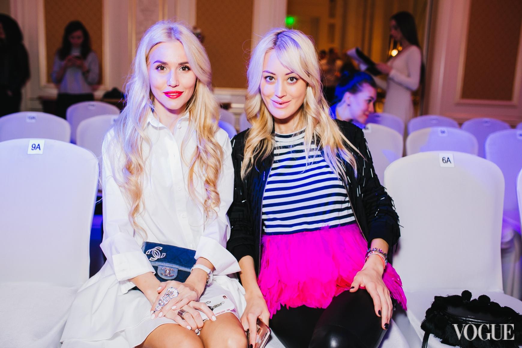 Елизавета Ядловская и Яна Югай
