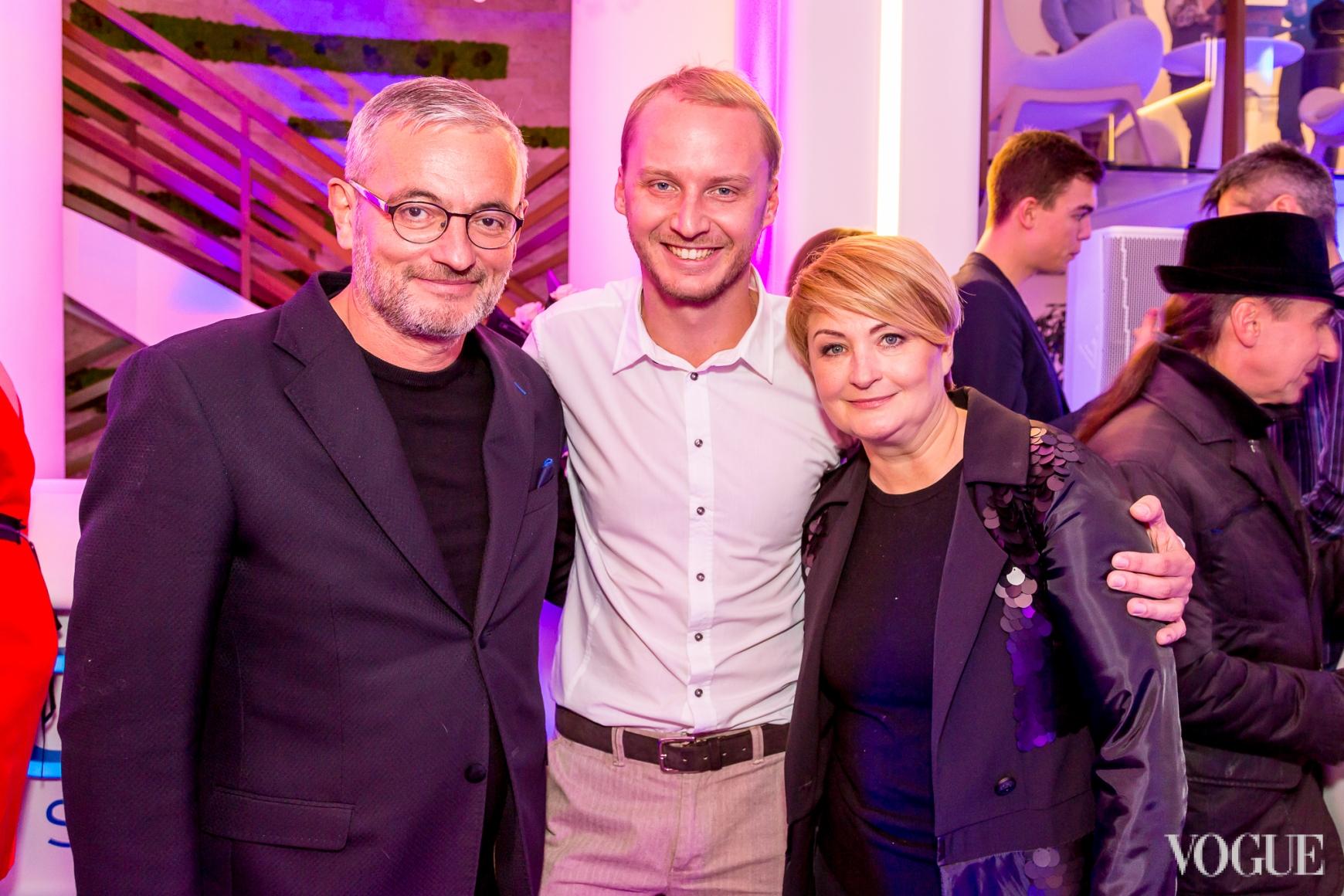Владимир Нечипорук, Павел Замешайлов и Ирина Данилевская