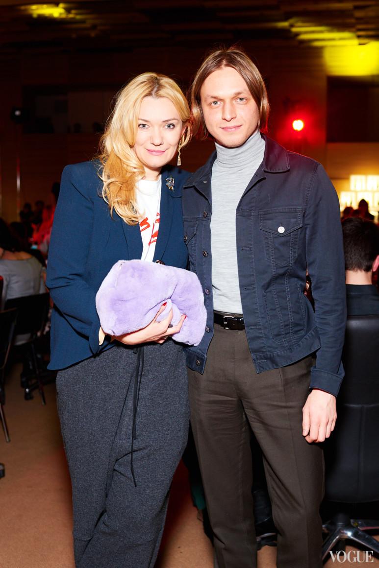 Ирина Ковальчук и Евгений Примаченко